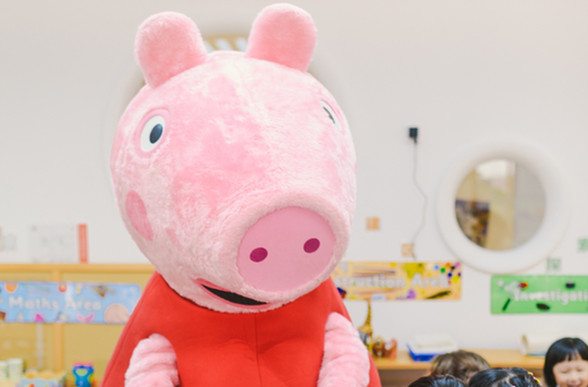 Entertainment One's Peppa Pig Scoops Best New Property Award at the Asia Licensing Awards
