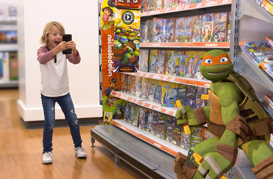 Nickelodeon Takes Over Big W Stores with Brand New Augmented Reality Treasure Hunt