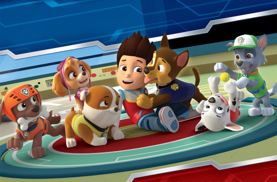"Paw Patrol Wins ""Best Young Property in Asia"" at the Asian Licensing Awards 2017"