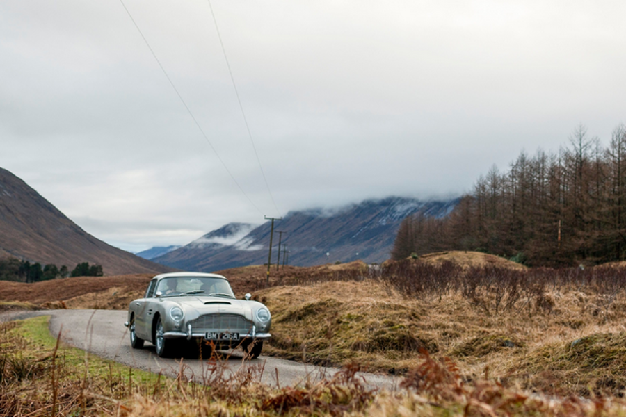 Aston Martin Recreates Iconic James Bond 'Goldfinger' DB5