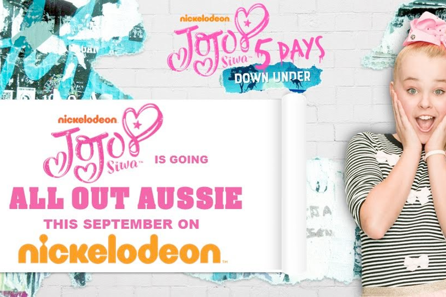 JoJo Siwa is 'coming back like a boomerang' and going all out Aussie this September on Nickelodeon
