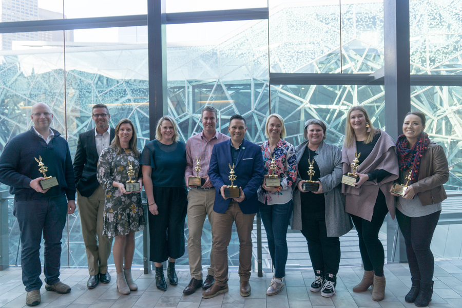 And the Gold Bunny Goes to… the ANZ WBCP Award Winners!