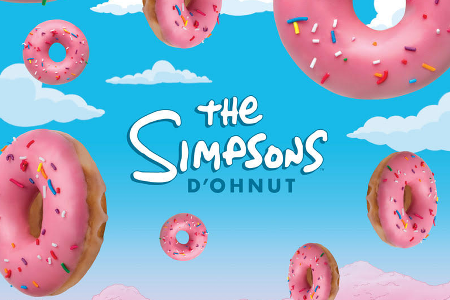 Krispy Kreme and The Simpsons Unite to Create the Perfect D'ohnut