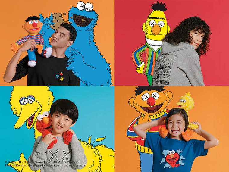 Sesame Street x KAWS