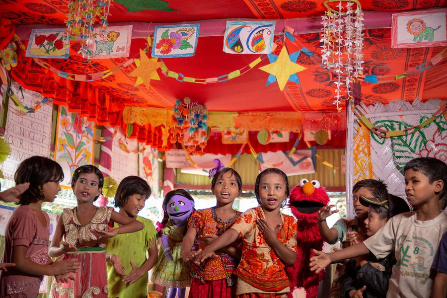 Lego Foundation and Sesame Street Team Up to Help Refugee Children