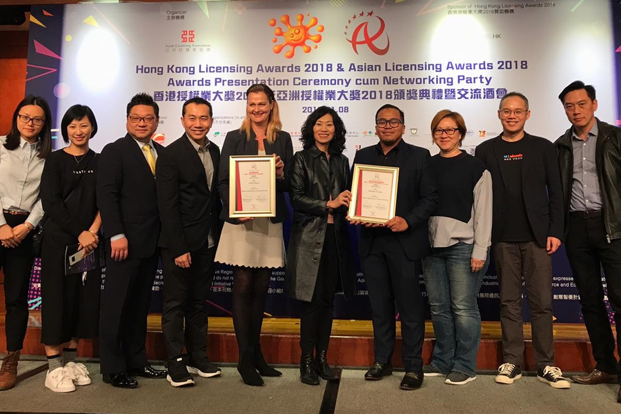 Nickelodeon Takes Home Two Merit Awards at the 2018 Asian Licensing Awards