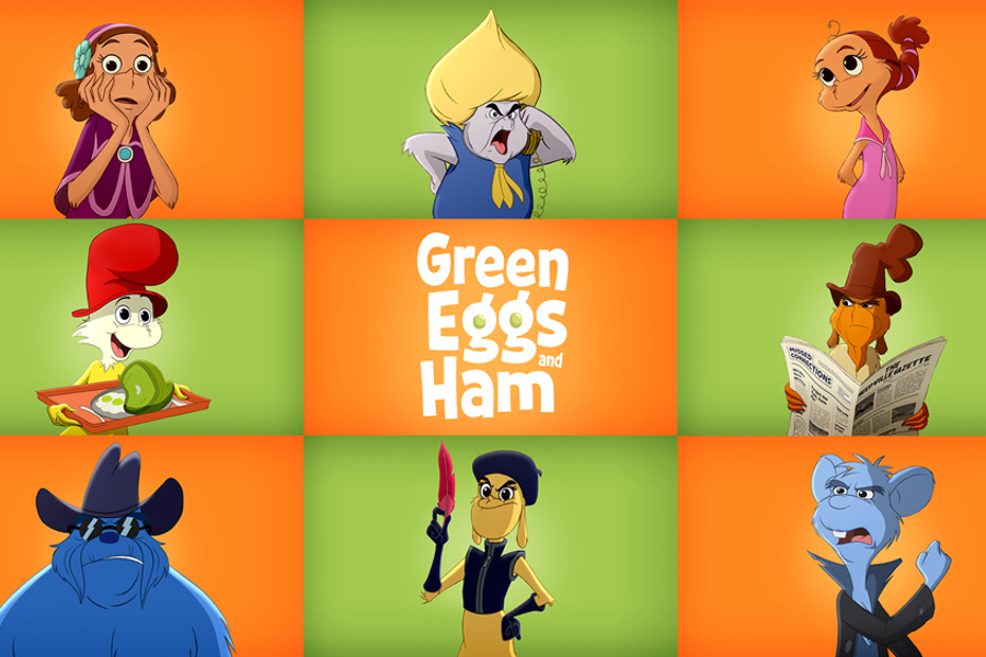 Netflix and Ellen Join Forces for Animated Green Eggs And Ham – Streaming Late 2019