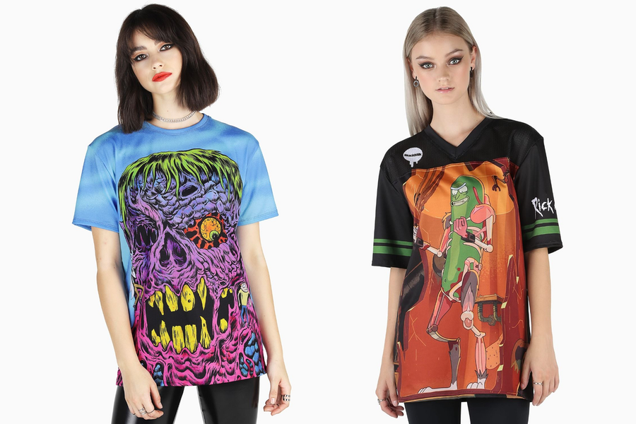 Rick and Morty x Blackmilk