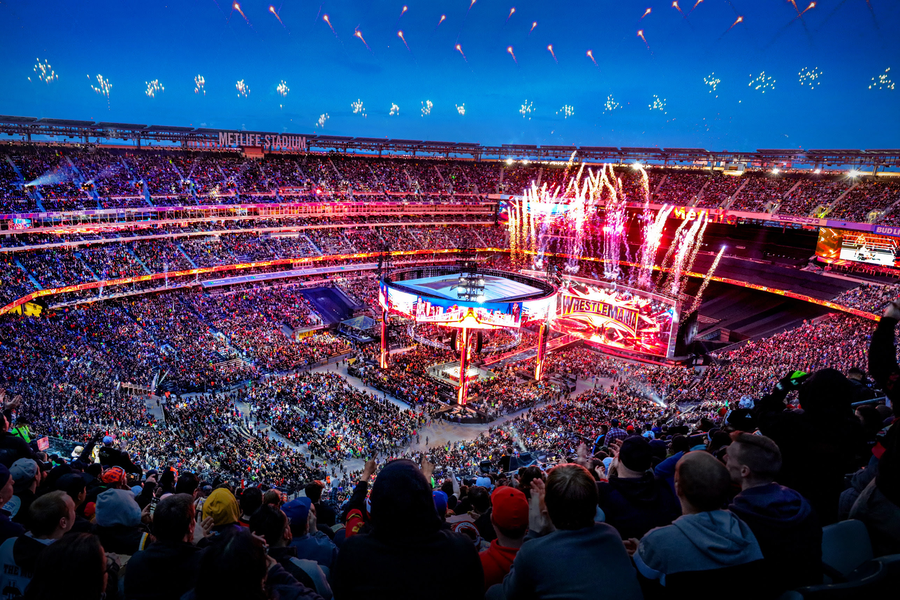 WrestleMania 35 Sets Record