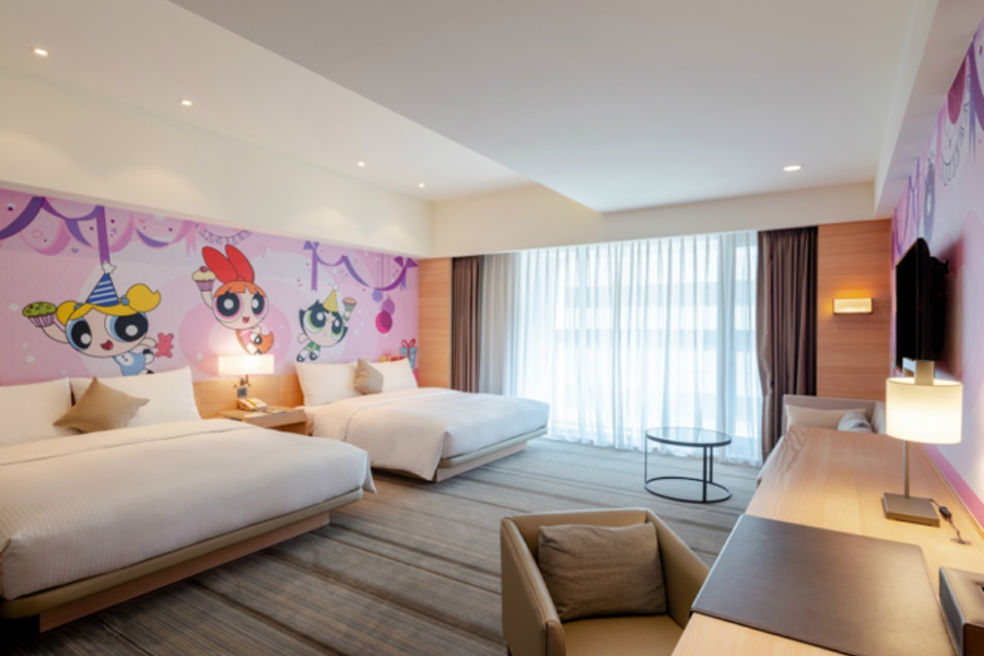 Hotel Cozzi Unveils Cartoon Network-branded Experience in Taiwan