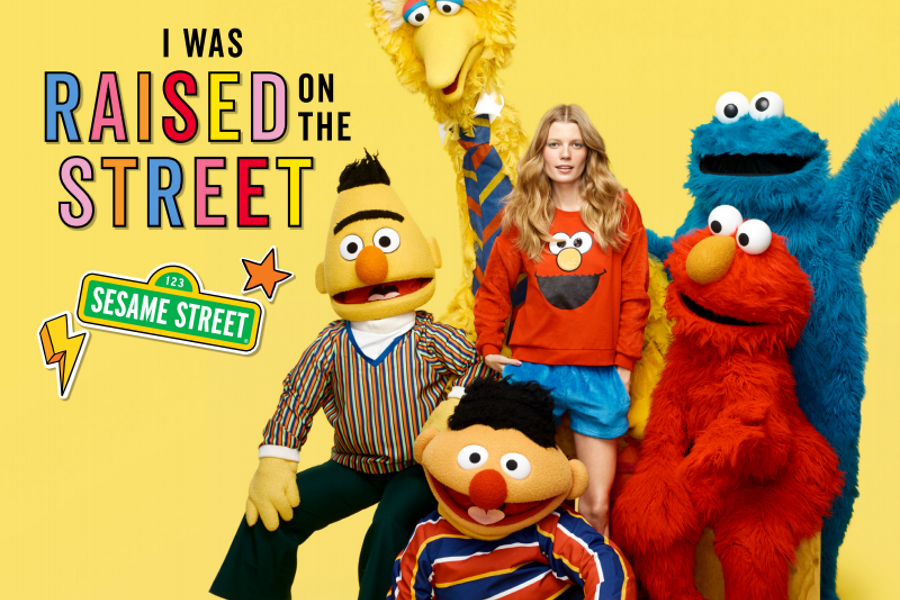 Peter Alexander x Sesame Street Collection – I Was Raised On The Street