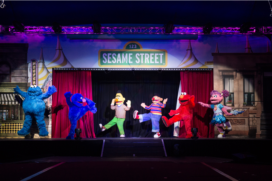 Haven, Showtime Attractions and Silvers Circus Bring Sesame Street to Life Across Australia!