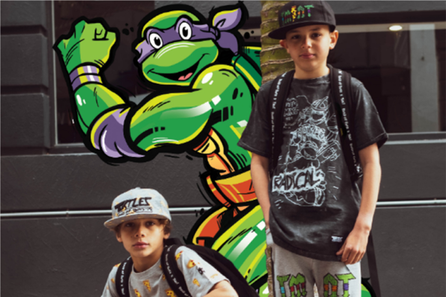 Haven and Nickelodeon Launch Band Of Boys x TMNT Collaboration in NZ