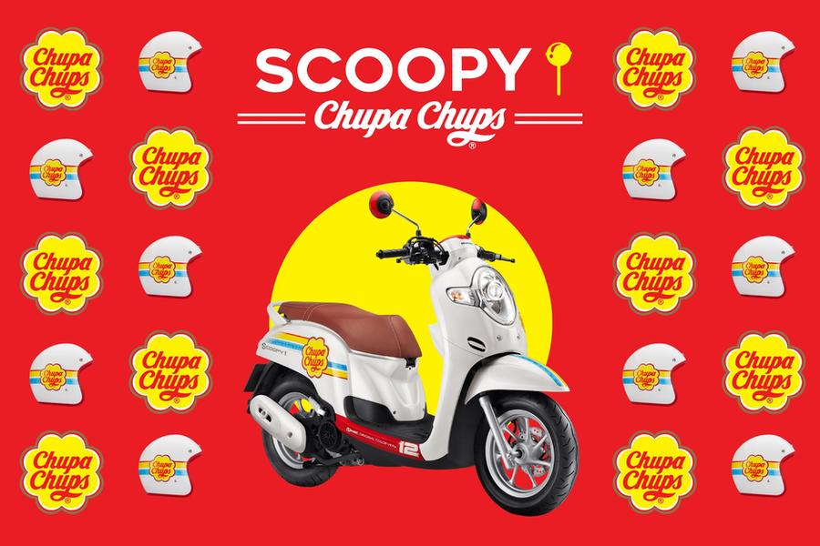 Scoopy I x Chupa Chups