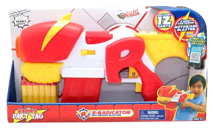 Ryan's Dart Tag E-Radicator Motorized Blaster (Ryan's World)