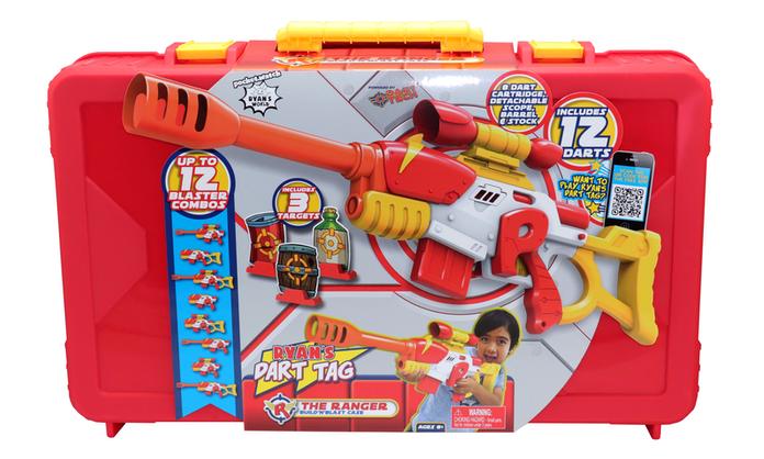 Ryan's Dart Tag The Ranger Build'n'Blast Case (Ryan's World)