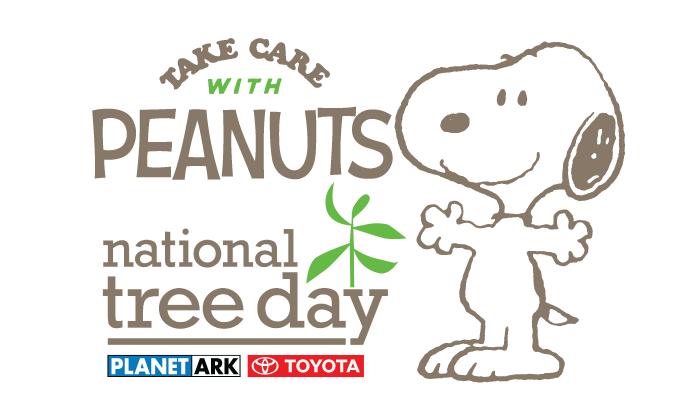 Peanuts x Planet Ark